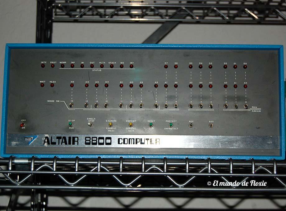 Altair 8800 - Computer History Museum en Silicon Valley