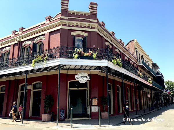 Arquitectura del French Quarter New Orleans