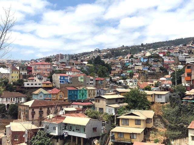 Vista de uno de los cerros de Valparaiso