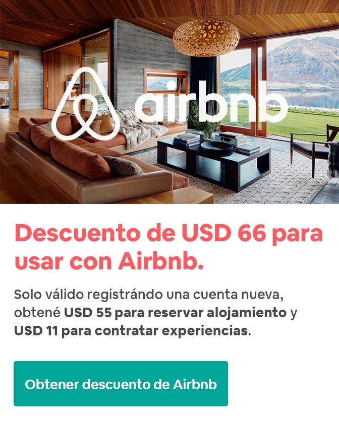 Descuento Airbnb 2020 Mr Filangie
