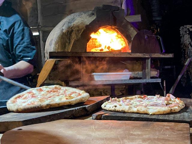 Pizza napoletana en Mar del Plata