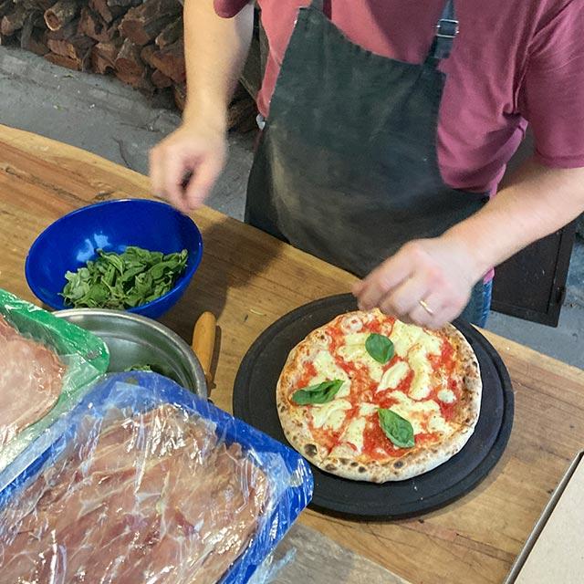 Mr FIlangie pizza napoletana en Mar del Plata